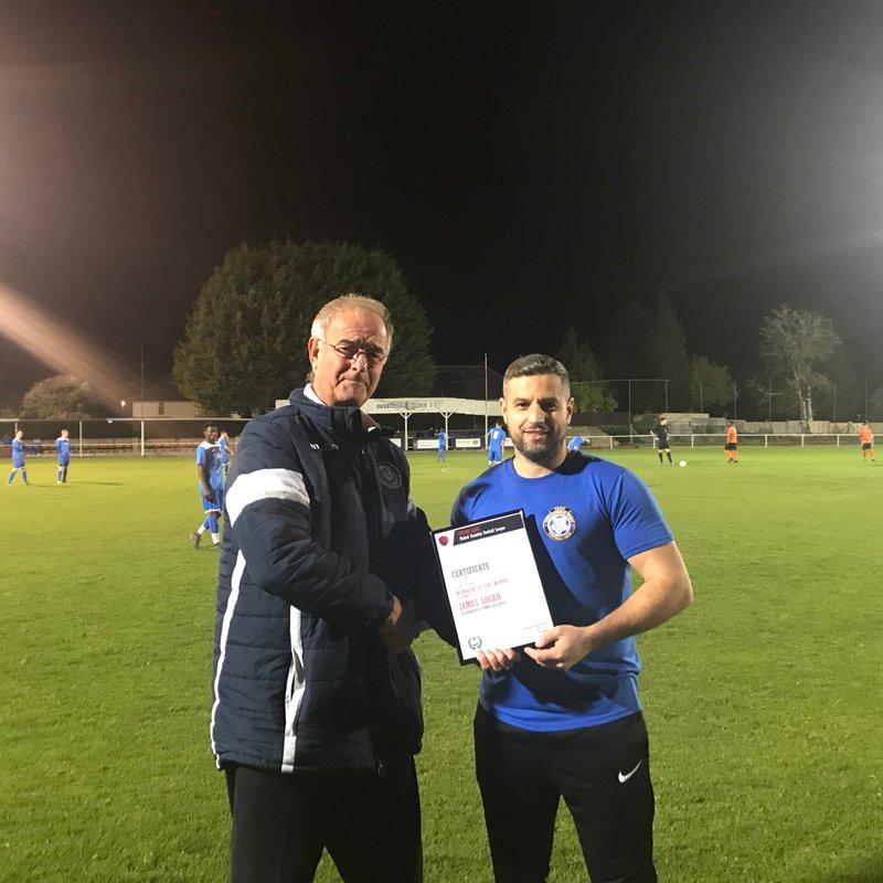 Award for Reserves' Manager