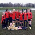 Under 10 Girls lose to Holy Spirit Celtic