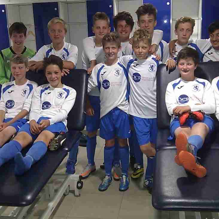 Chad Whites U13 raid England Elite Development Centre!