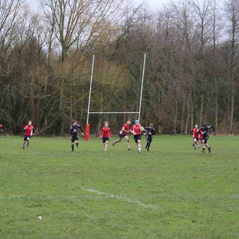 Manchester RFC U15 -v- Eccles and Colne - 21st Feb 2016