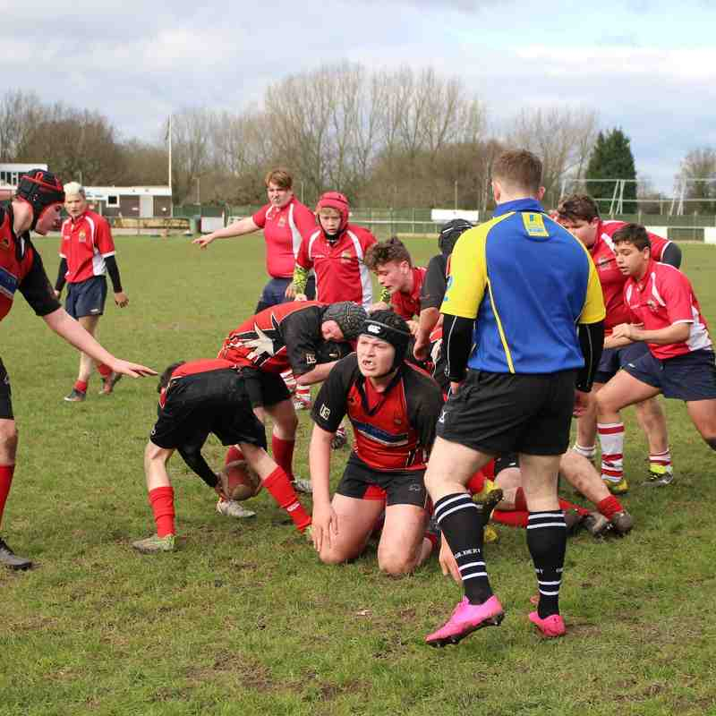 Manchester U15 -v- Bolton 28th Feb 2016
