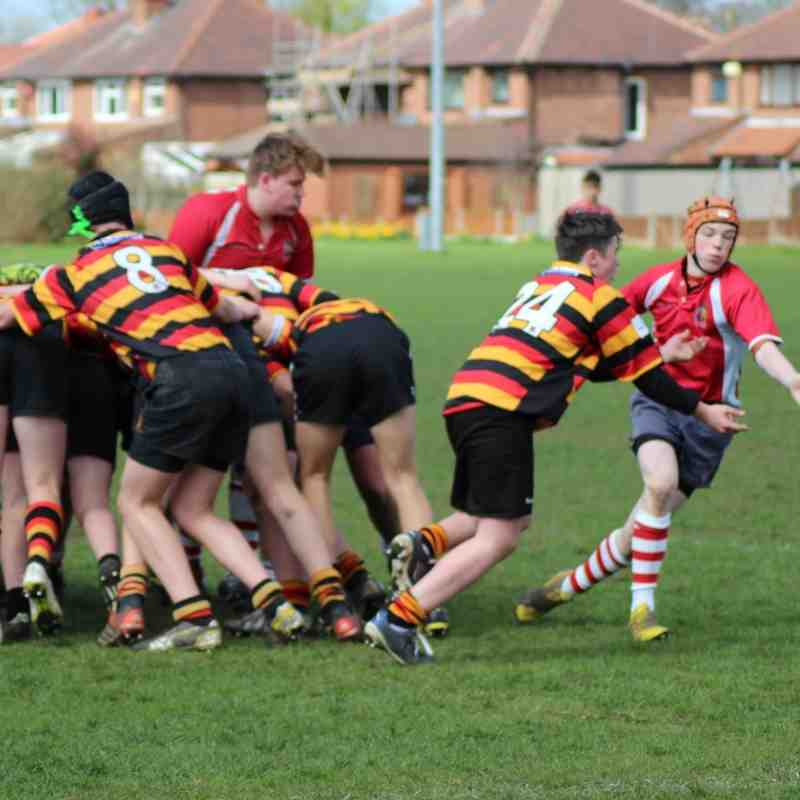 U15 -v- Heaton Moor 17th April 2016