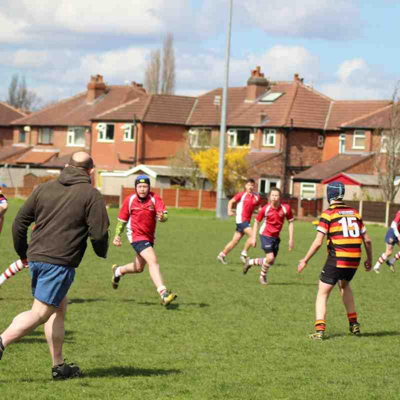 U15 -v- Heaton Moor 17th April 2016