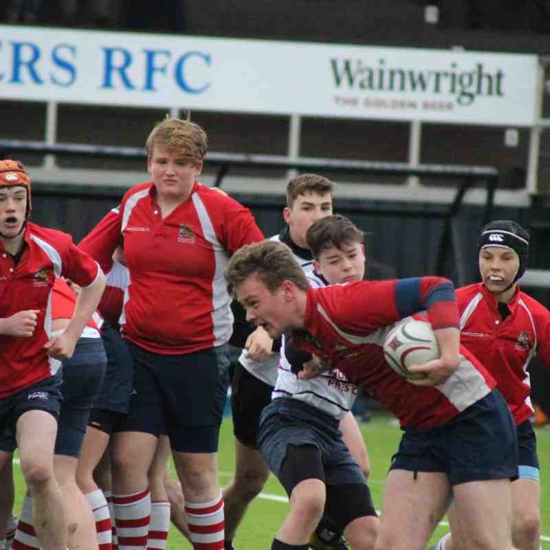 U16 v Preston 26th Feb 2017