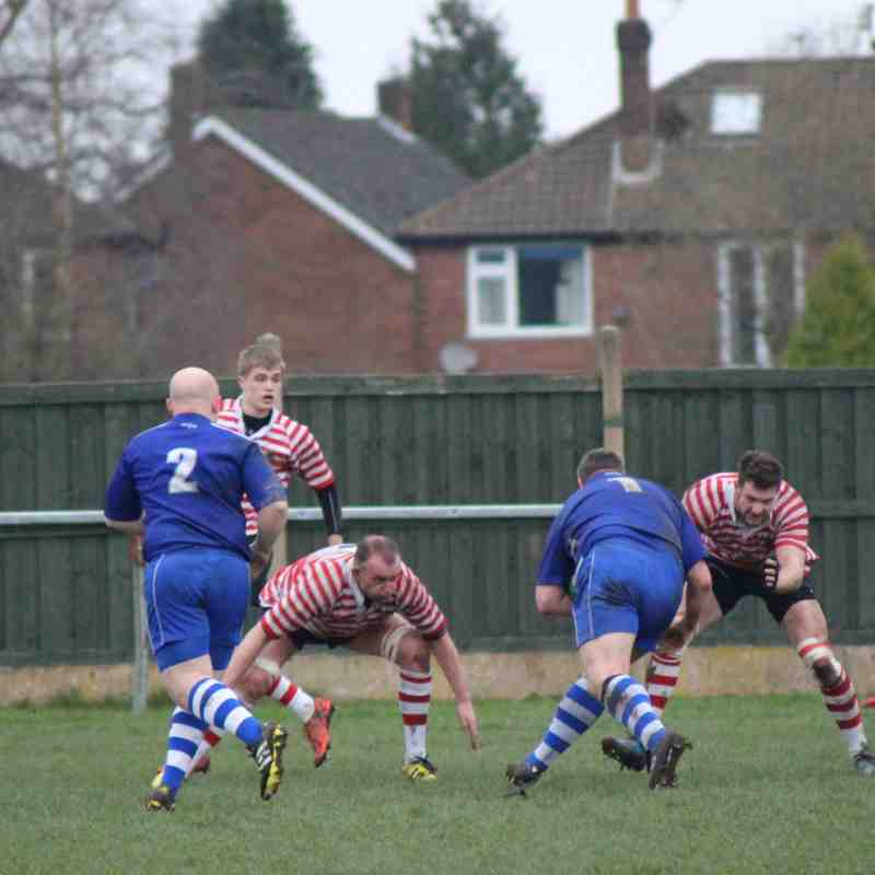 2's v Capenhurst 11th March 2017