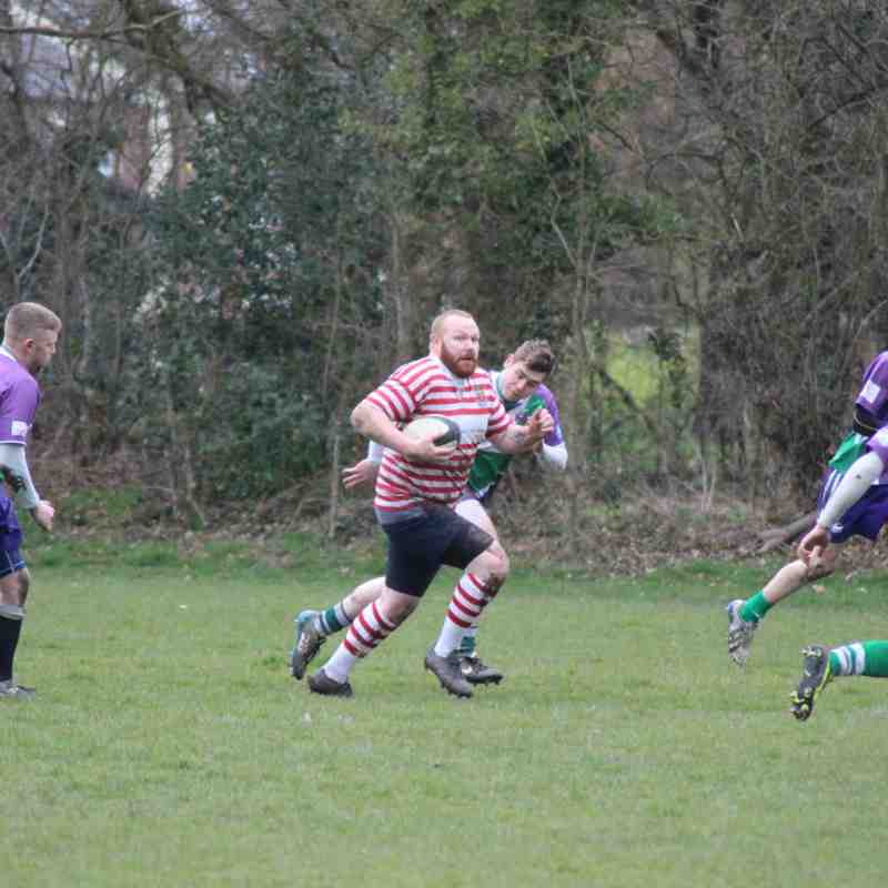 3's v Hope Valley 31st March 2018