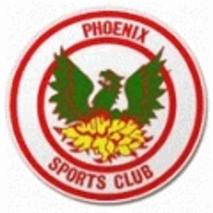 Forest Hill welcome Phoenix Sports res at Ladywell Arena 3pm KO Saturday 17th September...