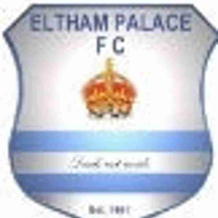 Forest Hill miss the chance of another 3 points with a goalless draw at Eltham Palace