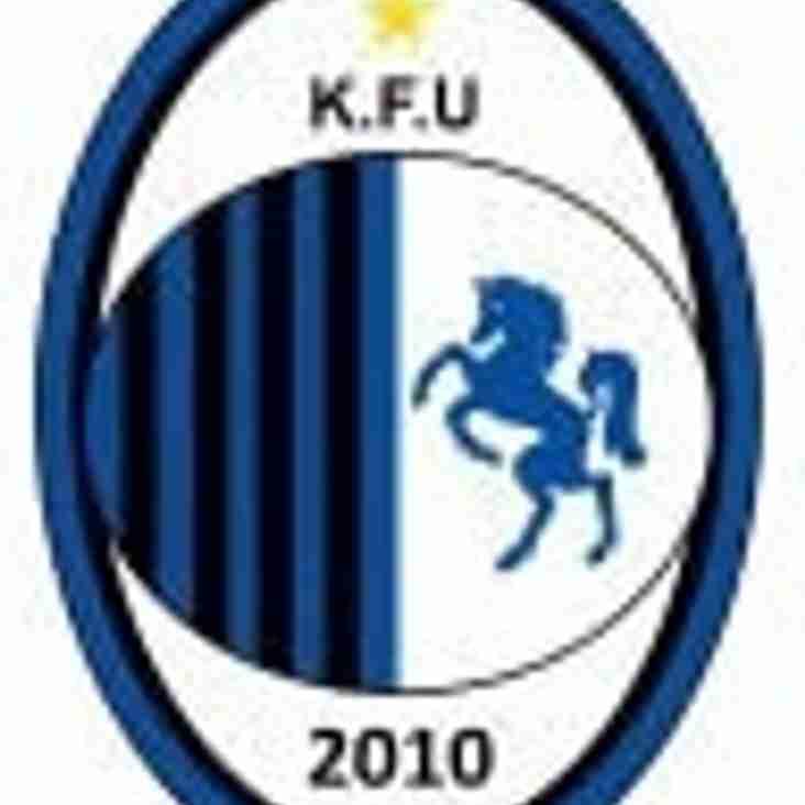 Forest Hill host KFU in the league Saturday 21st Jan 3pm kick off