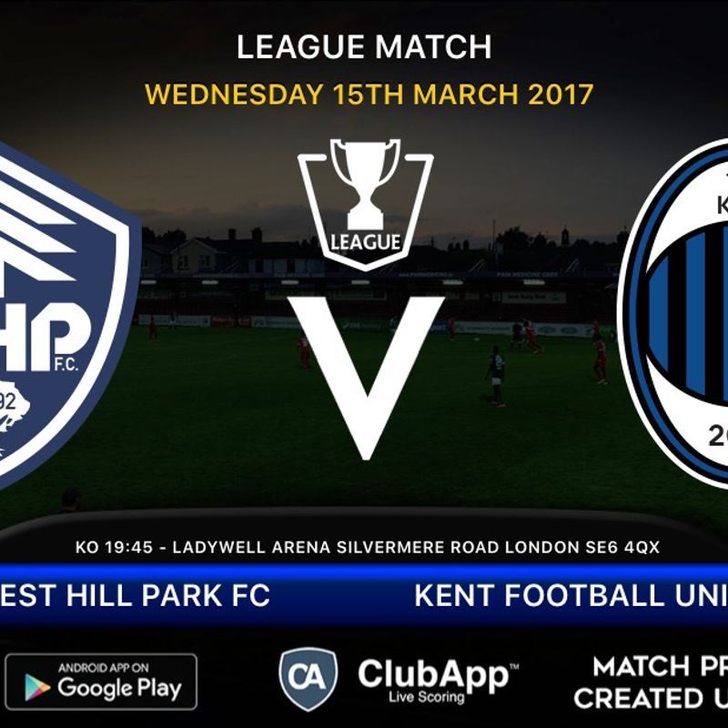 Forest Hill host KFU in the league tonight.......