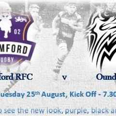 The purple, black and whites begin a 4 week run at home!