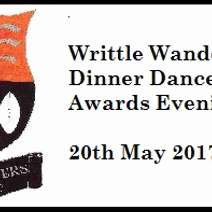 End of season Dinner and Dance 2017