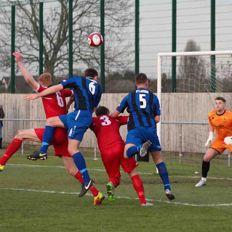 Clee Town 1st Team v Spennymoor Town 25.11.17
