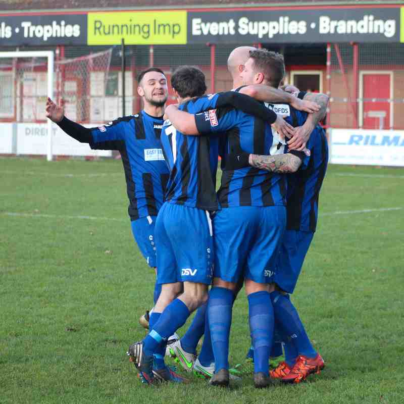 Clee Town 1st Team v Lincoln United 26.12.17