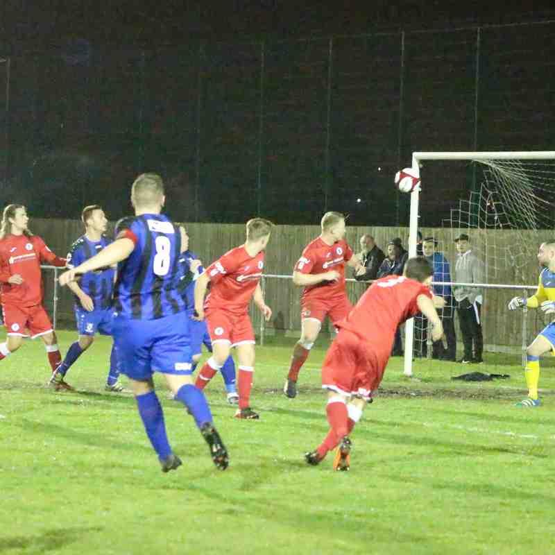 Clee Town 1st Team v Grimsby Borough Cup SF 10.01.18