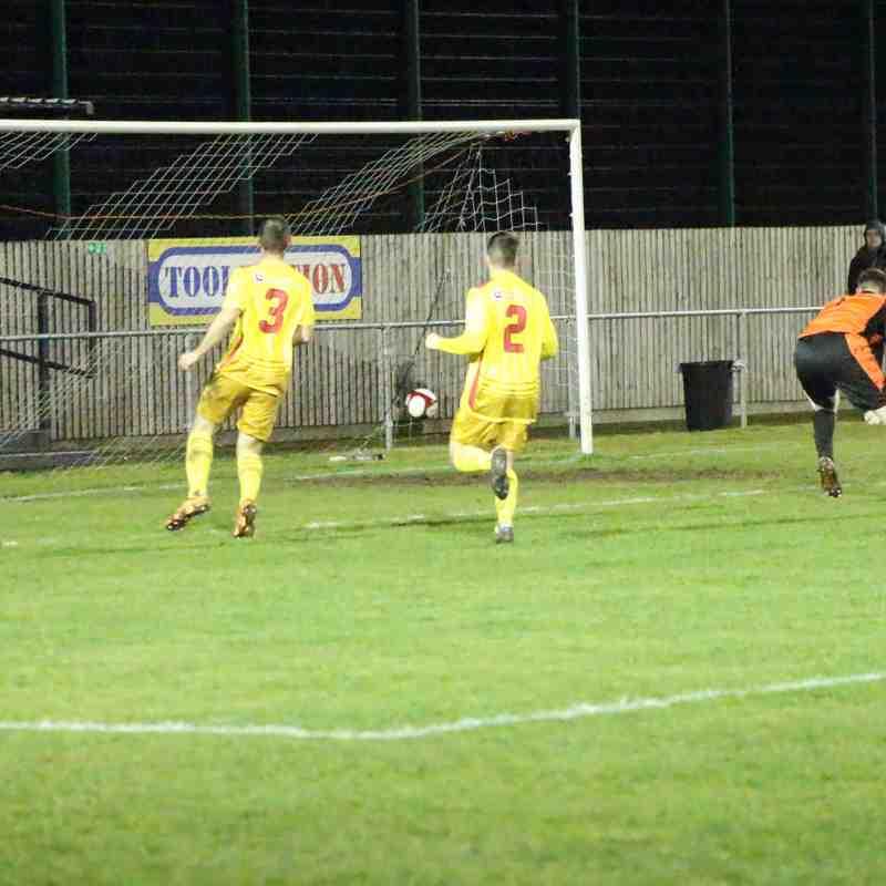 Clee Town 1st Team v Carlton Town 21.02.18