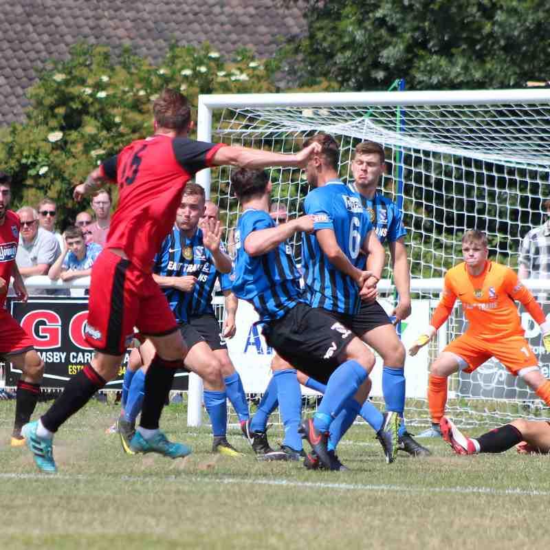 Clee Town 1st Team v Grimsby Town Pre Season Friendly 07.07.18