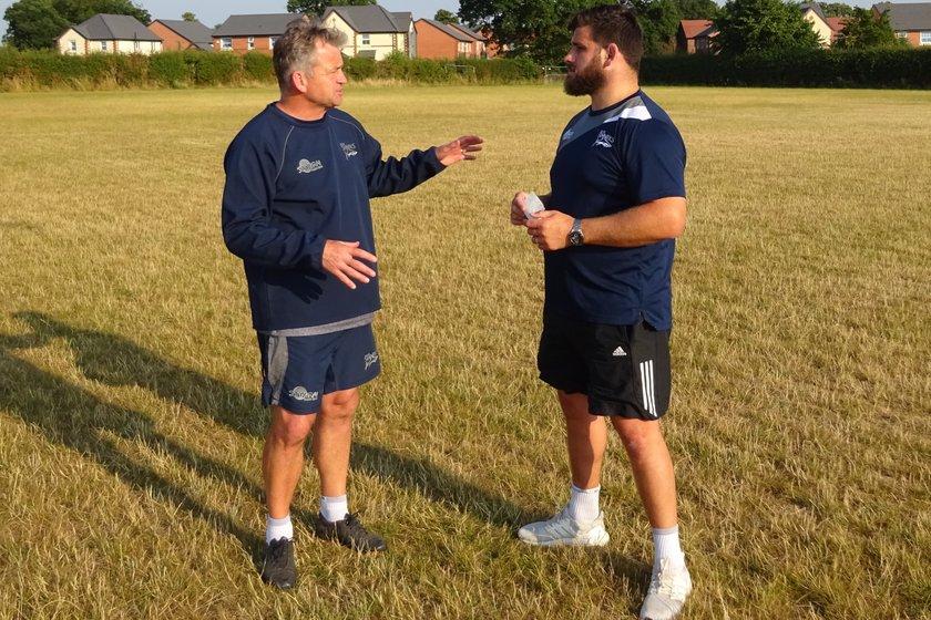 Pre season picking up pace - Jon Callard coaching this week.