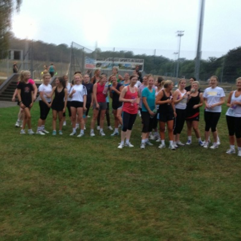 Fitness at the Sports Centre 14 August2013