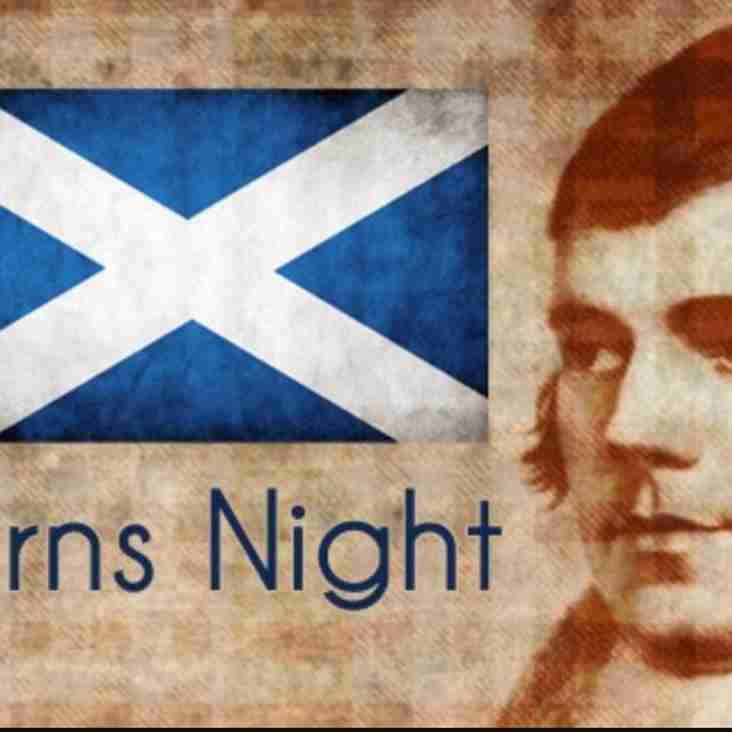 Burns Night Friday 27th January