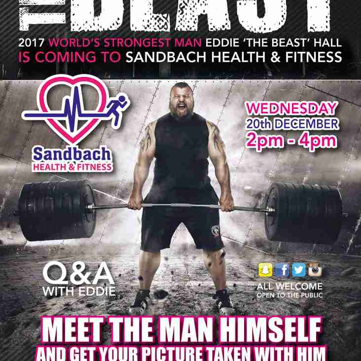 The World's Strongest Man is coming next Wednesday 20th December