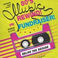 80's Rewind Event is Friday Feb 23rd - fundraiser for u10's, 7pm-midnight