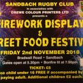 Firework Display and Street Food Festival