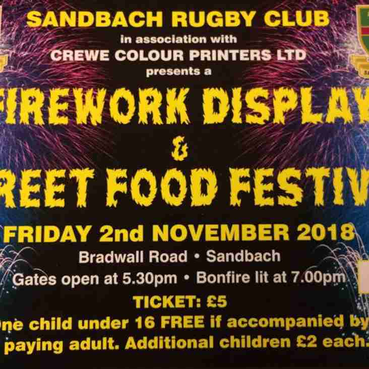Firework Display and Street Food Festival