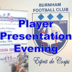 Player Presentation Evening