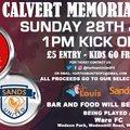 Alfie Calvert Memorial Cup 28 July 2019