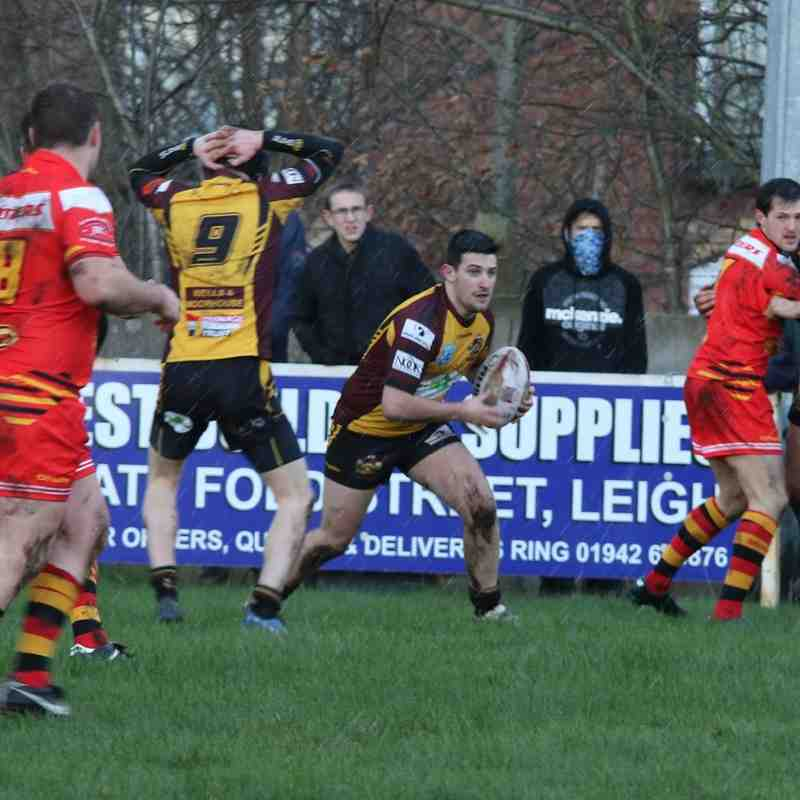 Leigh Miners Rangers v Underbank - Challenge Cup 1 - 30 January 2016