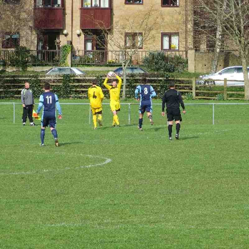 Ilminster Town 1st Team Vs Minehead (22-03-14)
