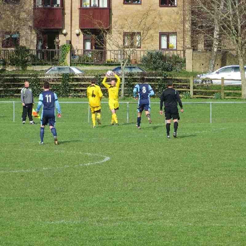 Ilminster Town 1st Team Vs Minehead (22-03-14)
