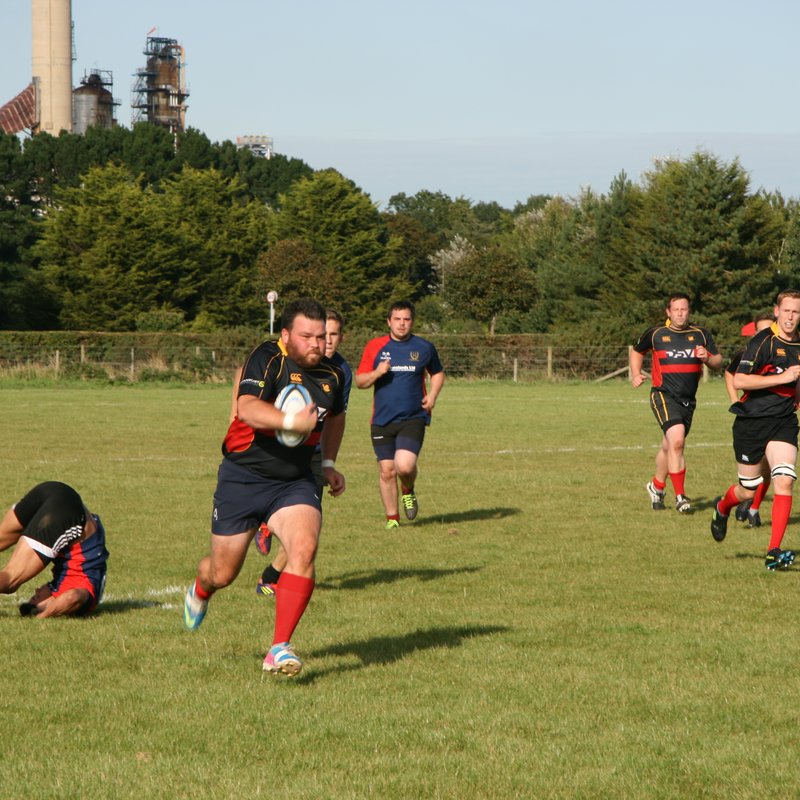 Nomads play first game of the season against Fawley