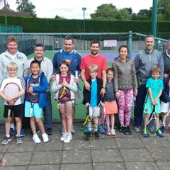 QUORN Family Tennis Cup Red Ball Tournament 2017