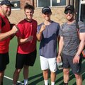 Men's Team continue their winning ways at Westside in Team Tennis Surrey 2018