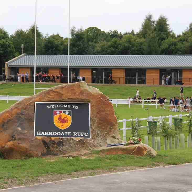 HARROGATE RUGBY LAUNCHES NEW GROUND IN STYLE WITH LOCAL DERBY