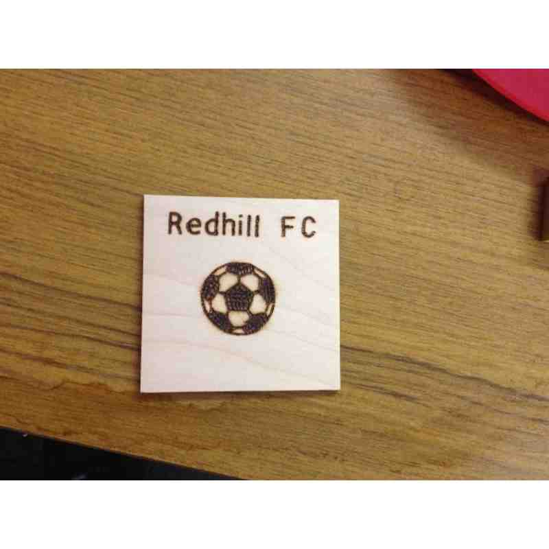 Redhill Football Club Coaster