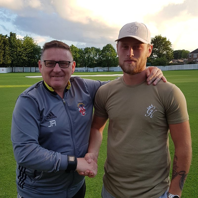 New Signing and the captain commits