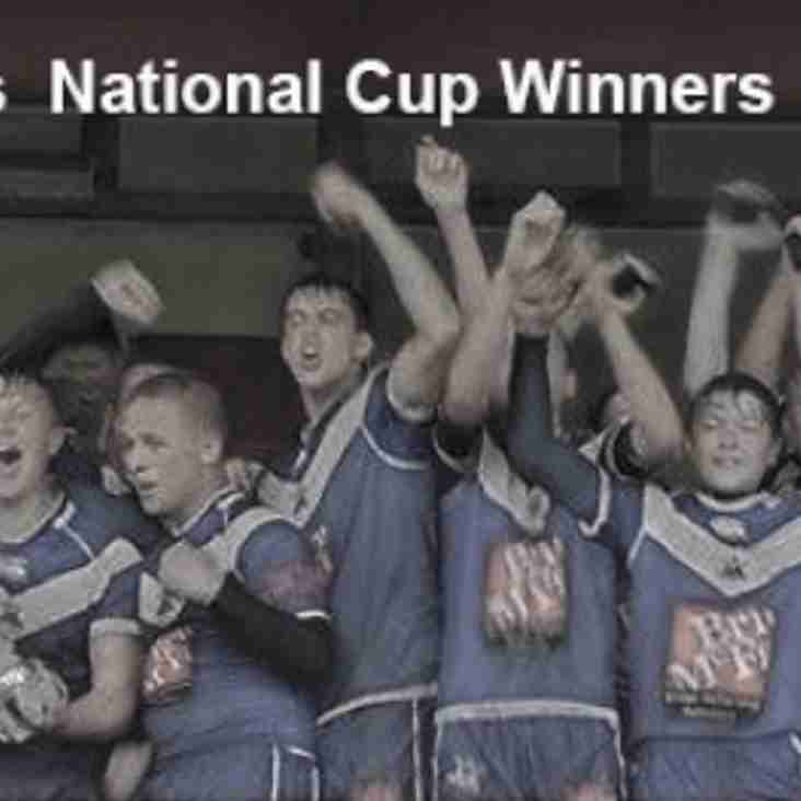 East Hull U14s BARLA National Cup Winners - MATCH REPORT