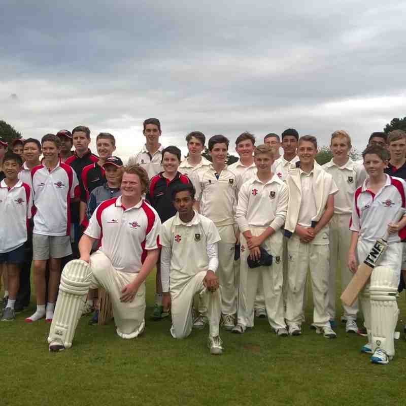 WHCC host Cardiff and the Vale of Glam U15s v Australian touring side 6.7.15