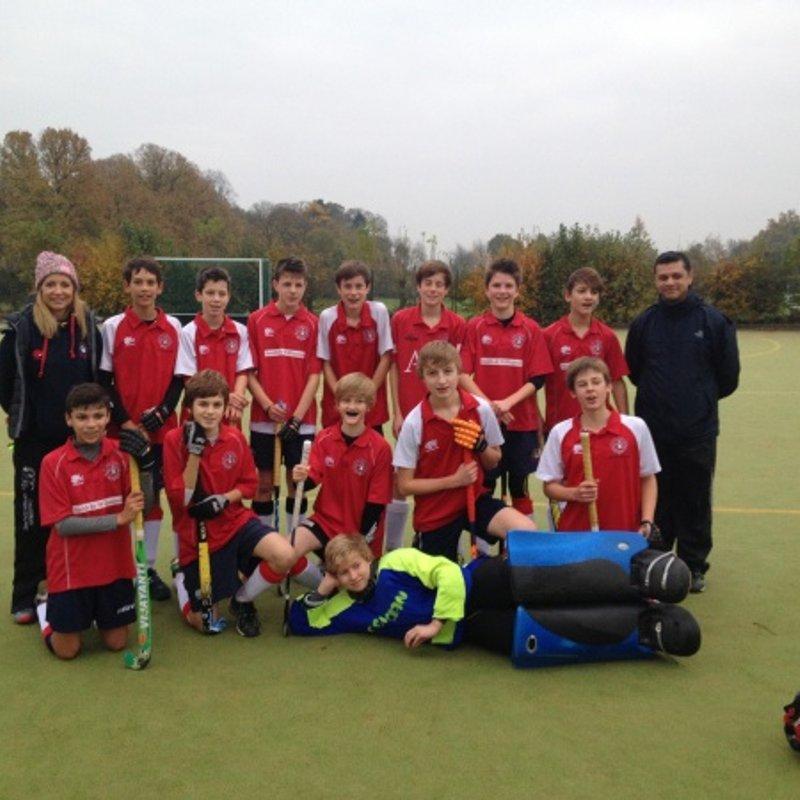 U14 Boys lose to South Berkshire 4 - 1