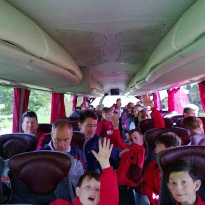 St. Georges Park trip Under 10s - 2012