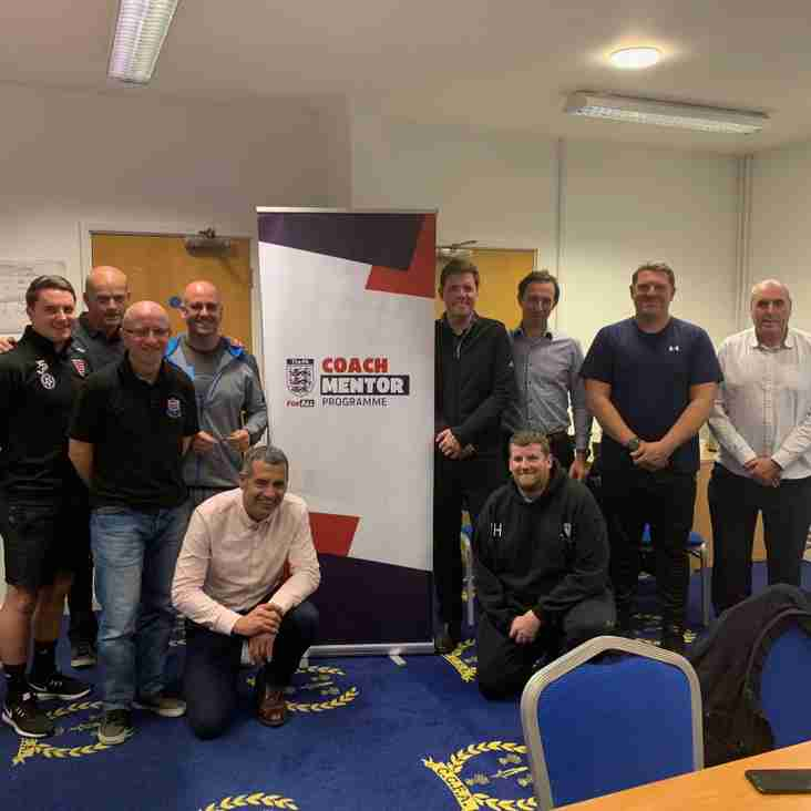New club mentor in place to support coaches