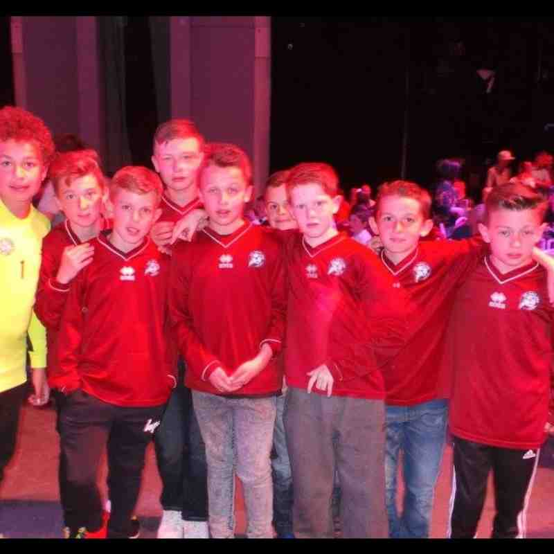 Under 12's Blackpool May 2015