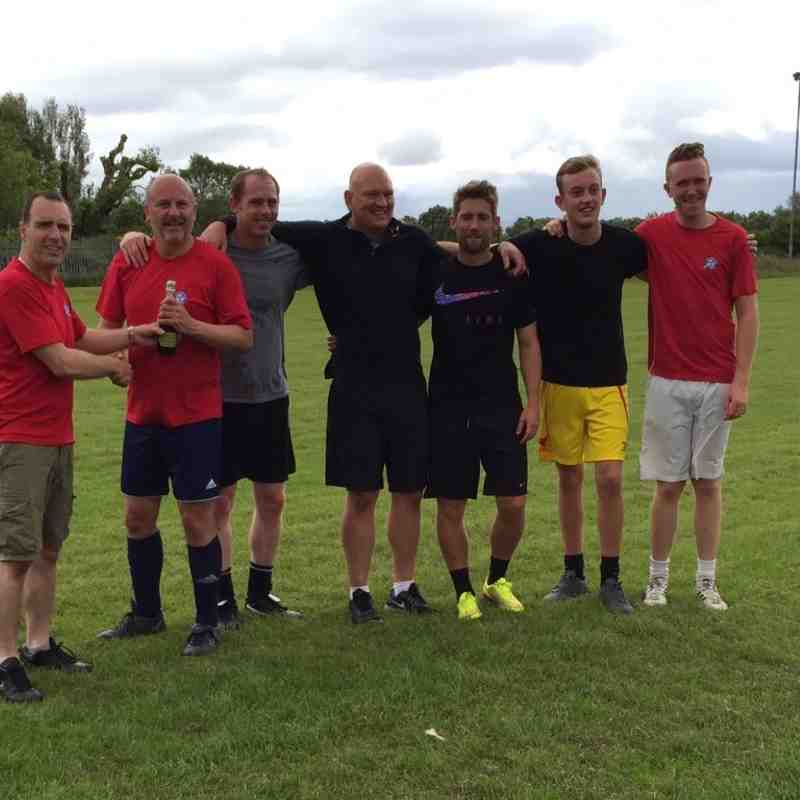 Coaches And Dad's Kickabout - Presentation Day June 28th 2015