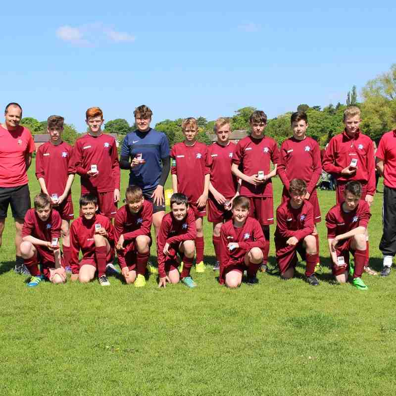 Under 14's Cup Final v Irby Panthers Sat 14th May 2016