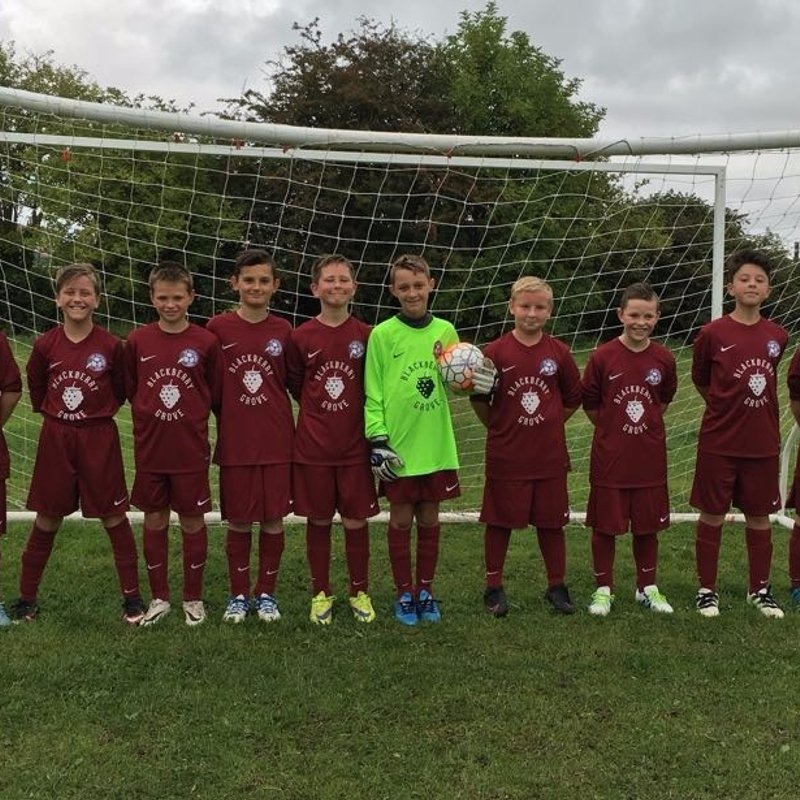 Under 12s Apollo beat Young Lions 1 - 7