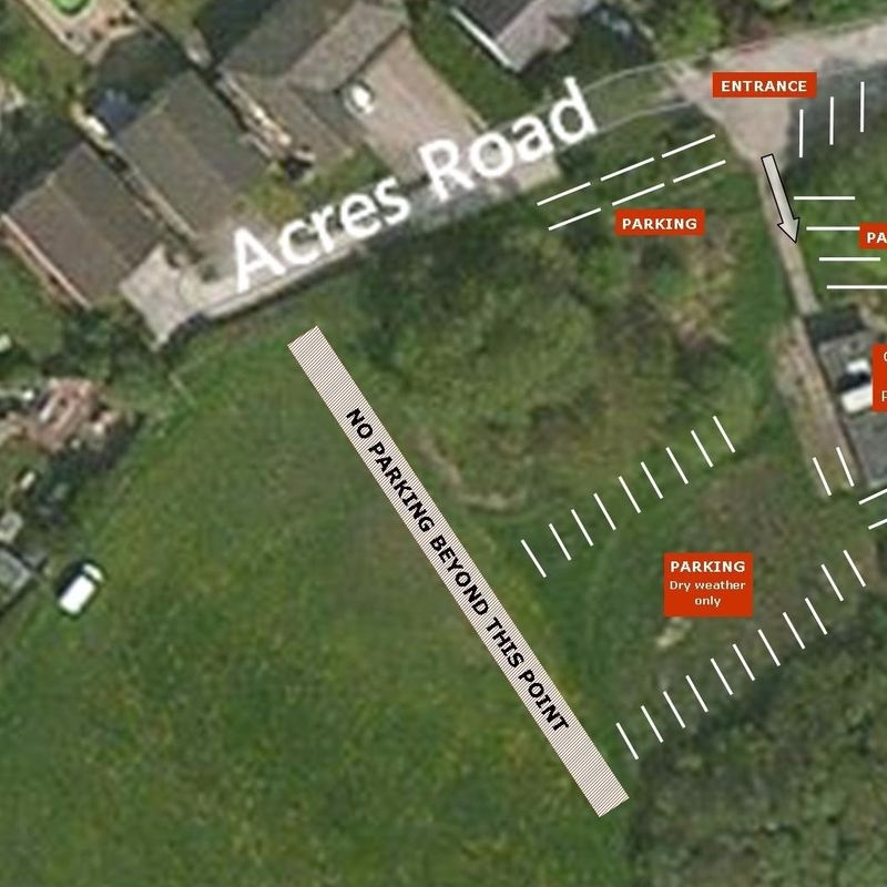 Parking Advice - Acres Road