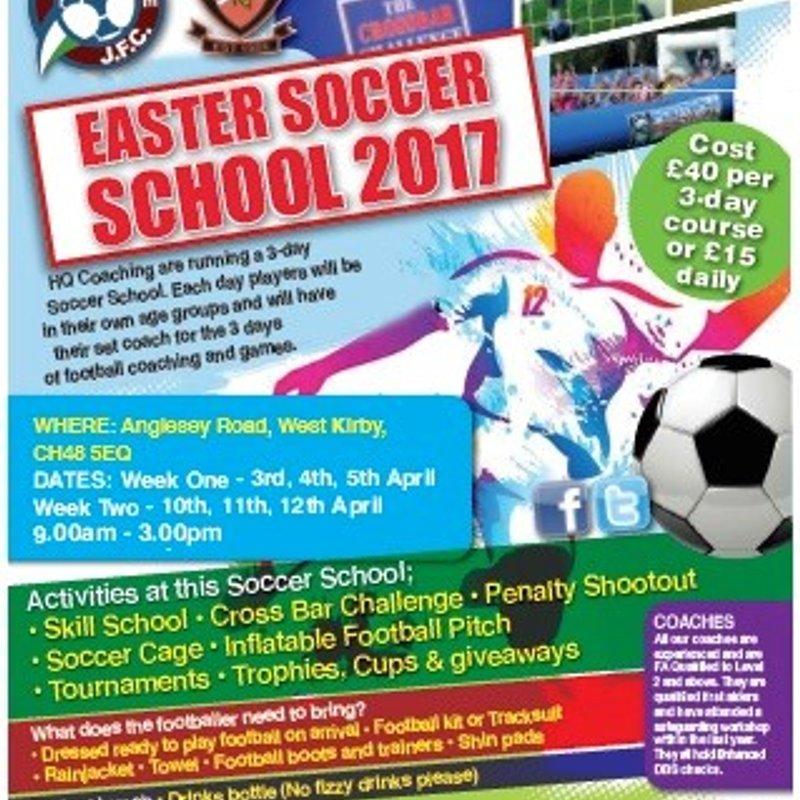 Easter Half Term Soccer School